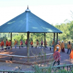 Inaugarating the Buddha Boma_1