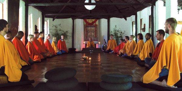 meditation hall sangha