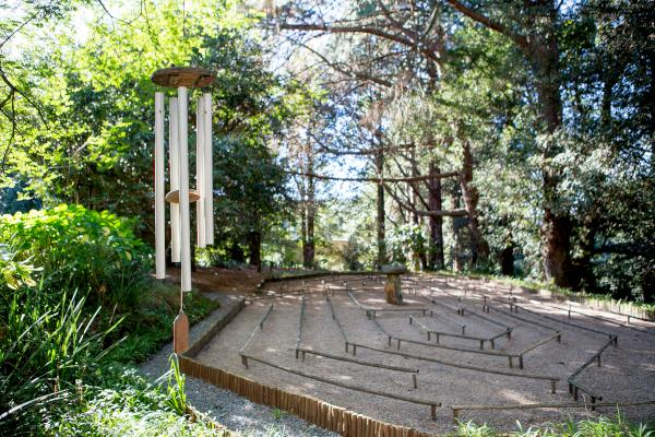 chimes and labyrinth brcixopo photo lisa de venter