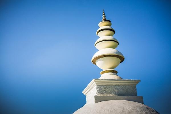 stupa sky