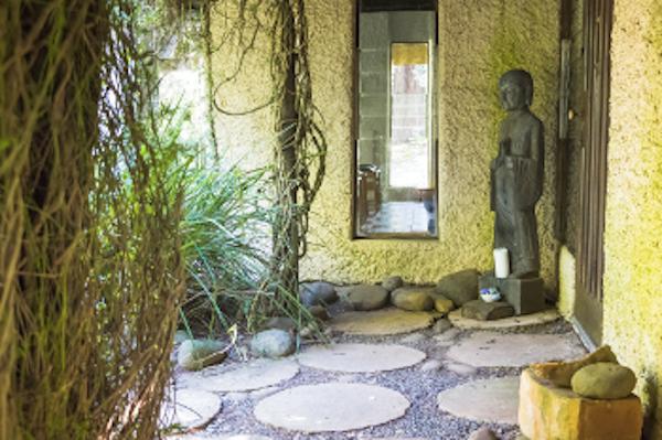 outside meditation hall c flores