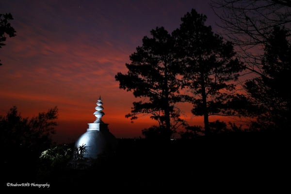stupa dawn2021 andrew brown